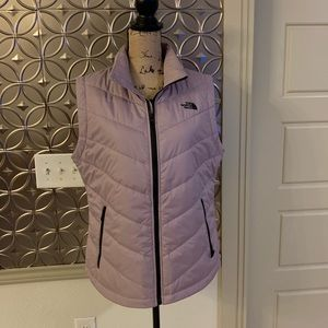 The North Face Women's Puffer Vest in Lavender